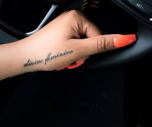 cursive, hands, and divine feminine image