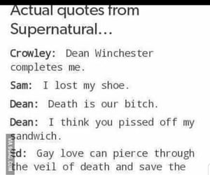 baby, dean, and funny image