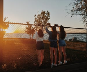 aesthetic, vibes, and sunsets image