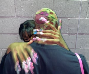 couple, pink, and aesthetic image