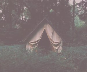 camping, greenery, and outside image