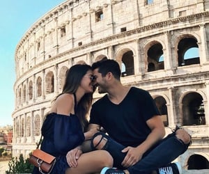 couple, love, and italy image