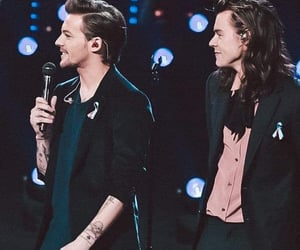louis tomlinson, Harry Styles, and larry stylinson image