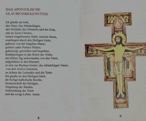 credo, sprüche, and kreuz image