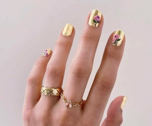 fashion, girls, and nails image
