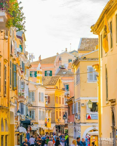 architecture, colorful, and Greece image