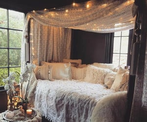 decor, hippie, and home image