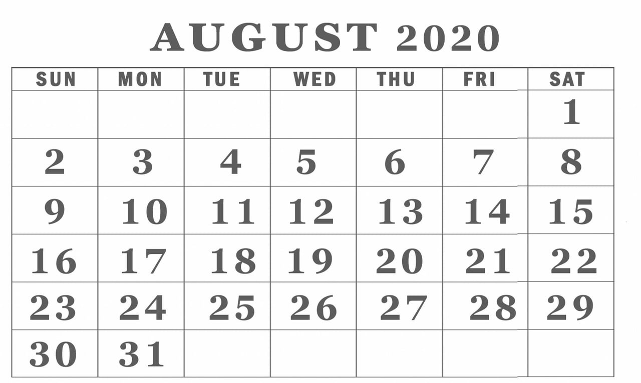 article, blank template, and august 2020 calendar image