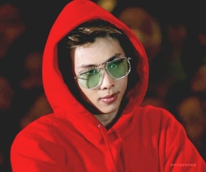aesthetic, red, and rm image