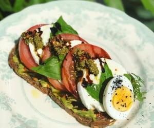 brunch, food, and salad image