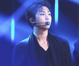 blue, dark, and jungkook image