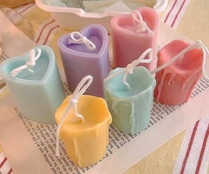 pastel, aesthetic, and candle image