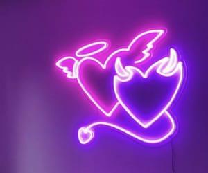 purple, aesthetic, and angel image