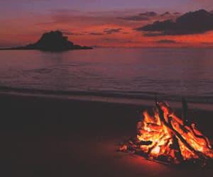gif, огонь, and вода image