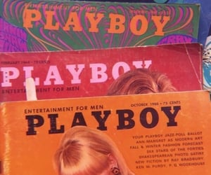 Playboy, aesthetic, and magazine image