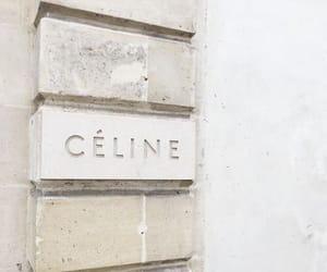 celine, fashion, and beige image