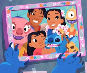 family, lilo, and movies image