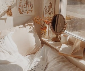 aesthetic, book, and mirror image
