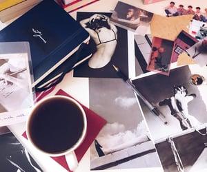 art, black, and magazine image