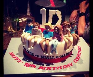 one direction and cake image