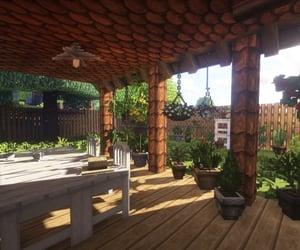 backyard, Build, and patio image