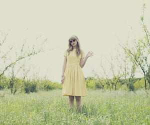 Taylor Swift, red, and yellow image