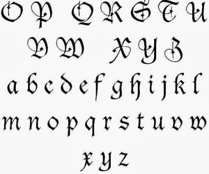 alphabet, font, and journal image