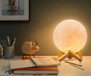 led moon light lamp image