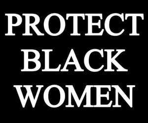 black, black women, and blm image