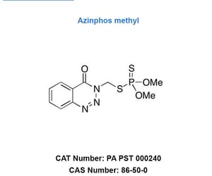 azinphos methyl and cas no : 86-50-0 image