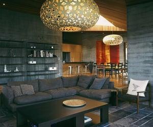 decoration, minimalist, and lights image