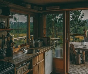 cottage, nature, and photography image