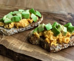 tofu, avocado toast, and tofu recipe image