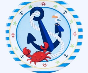 anchor, cool, and crab image
