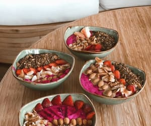 smoothie bowl, article, and avocado toast image