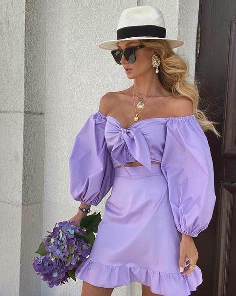 dress, purple, and summer image