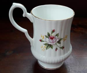 bone china, tea cup, and cup with handle image
