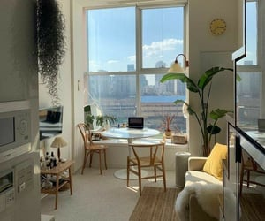 apartment, room, and cute image
