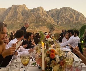 dinner, event, and gathering image