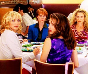 Carrie Bradshaw, charlotte york, and samantha jones image