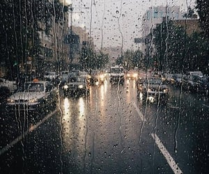aesthetic, cover, and rain image