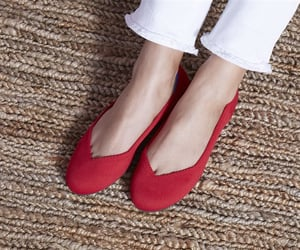 shoes and rothy's. ballet flats image