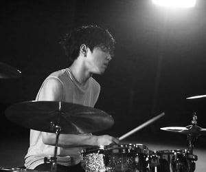black, drummer, and kpop image