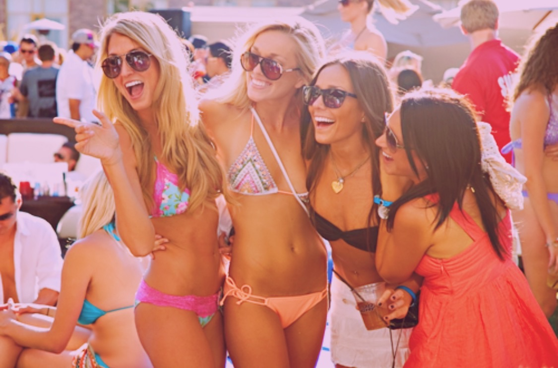 aesthetic, goals, and pool party image