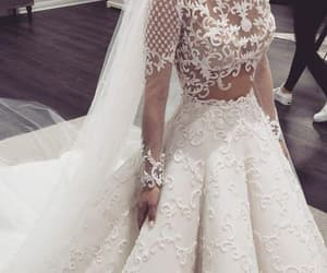 robe de mariée, wedding ball gown, and elegant wedding dresses image