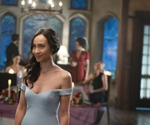 courtney ford, legends of tomorrow, and nora darhk image