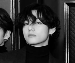 bts, taehyung, and icon image