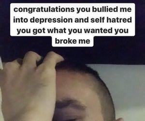 bully, me, and depression image