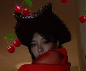 asian girl, cherry, and japanese girl image