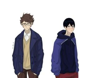anime, outfit, and kageyama image